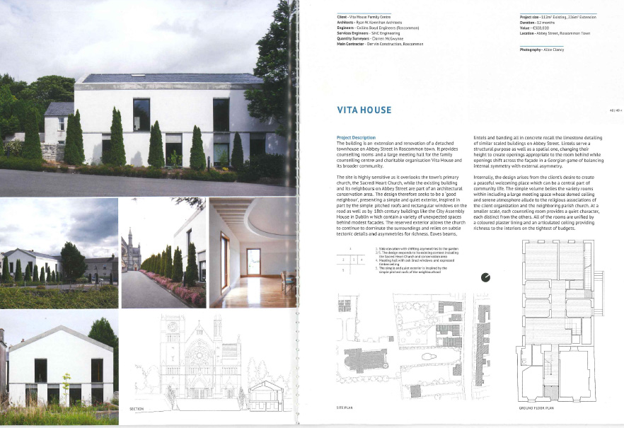 Vita House published in Architure Ireland issue 278